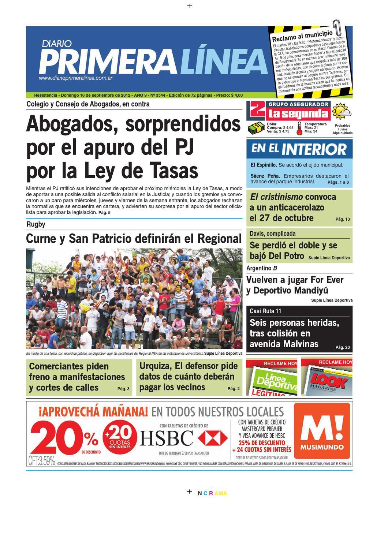 PrimeraLinea 3544 16-09-12 by Diario Primera Linea - issuu 6b7d0b6efa663
