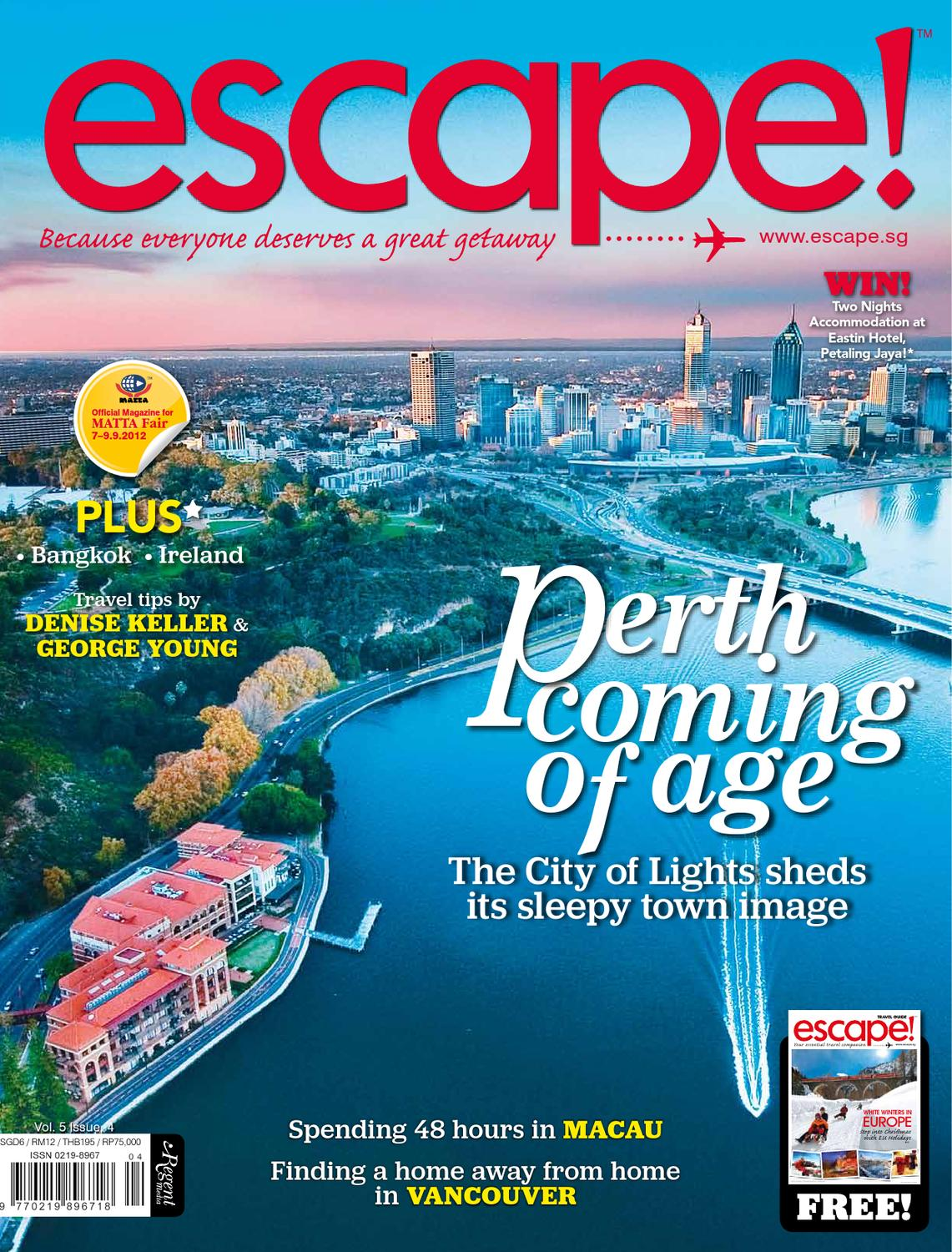escape! - 2012 Aug/Sep by Regent Media Pte Ltd - issuu