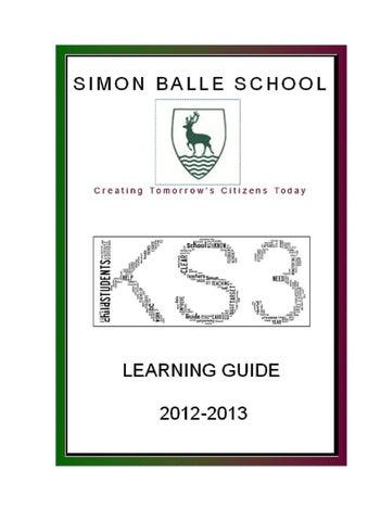 ks3 homework booklet 2012