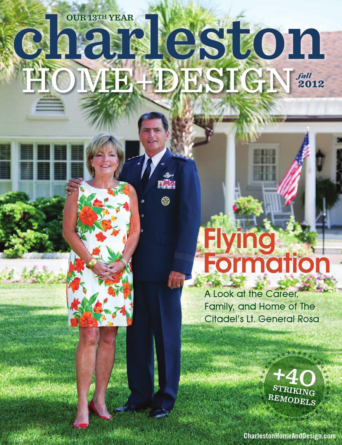 Charleston Home Design Magazine Fall 2012 By