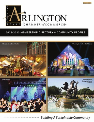 Arlington, TX 2012 Membership Directory and Community Profile