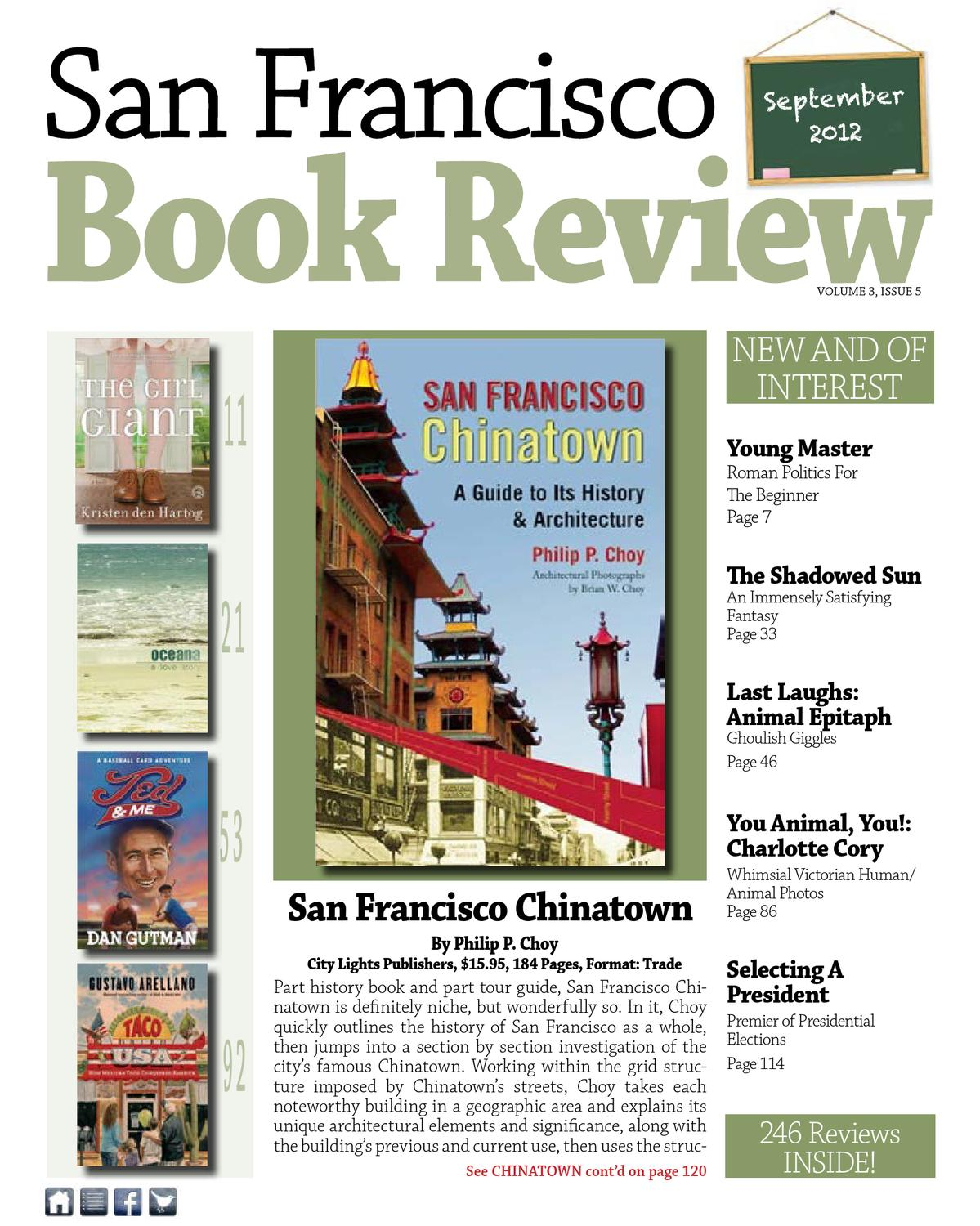San Francisco Book Review September October 2012 By City Book Review Publishers Of San Francisco Kids Book Reviews Issuu