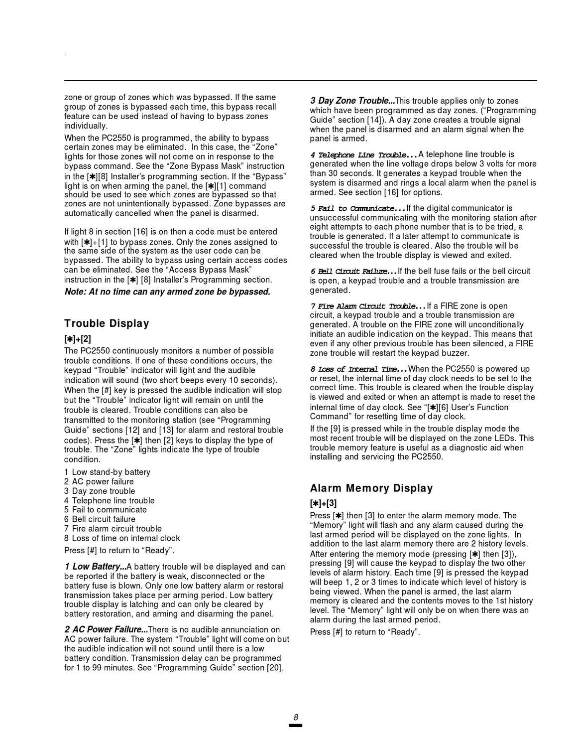 DSC pc2550 v1-3 im eng 29000592 r2 by Sertek Servicios Tecnologicos ...
