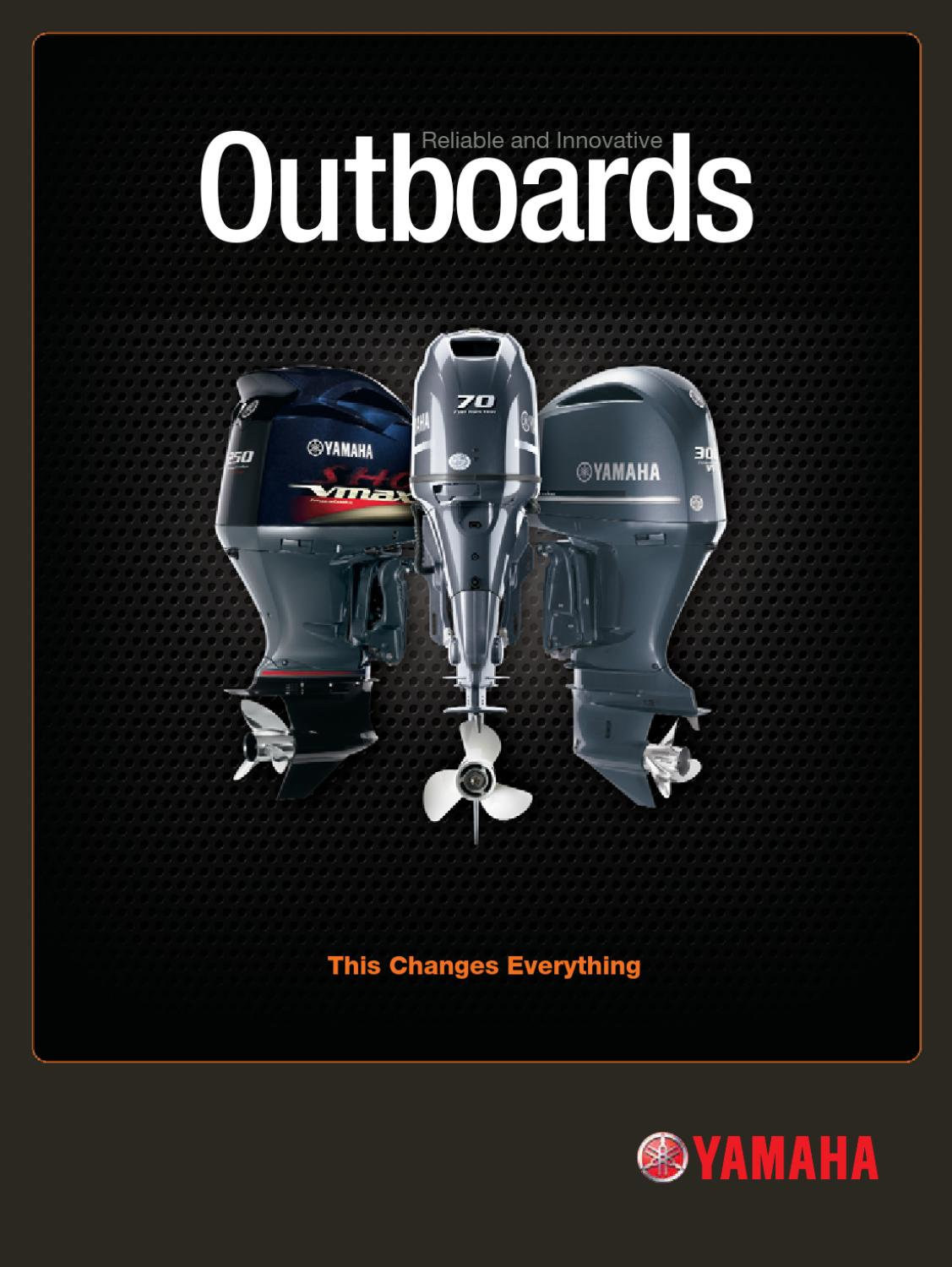 Yamaha Outboards 2011 Catalog By Garzon Studio Issuu 2000 T50 Outboard Wiring