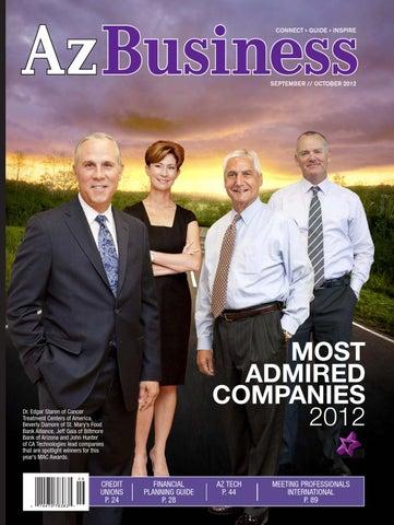 AzBusiness magazine September/October 2012 by AZ Big Media