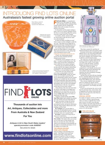 Antiques Art In Nsw By World Of Antiques Art Issuu