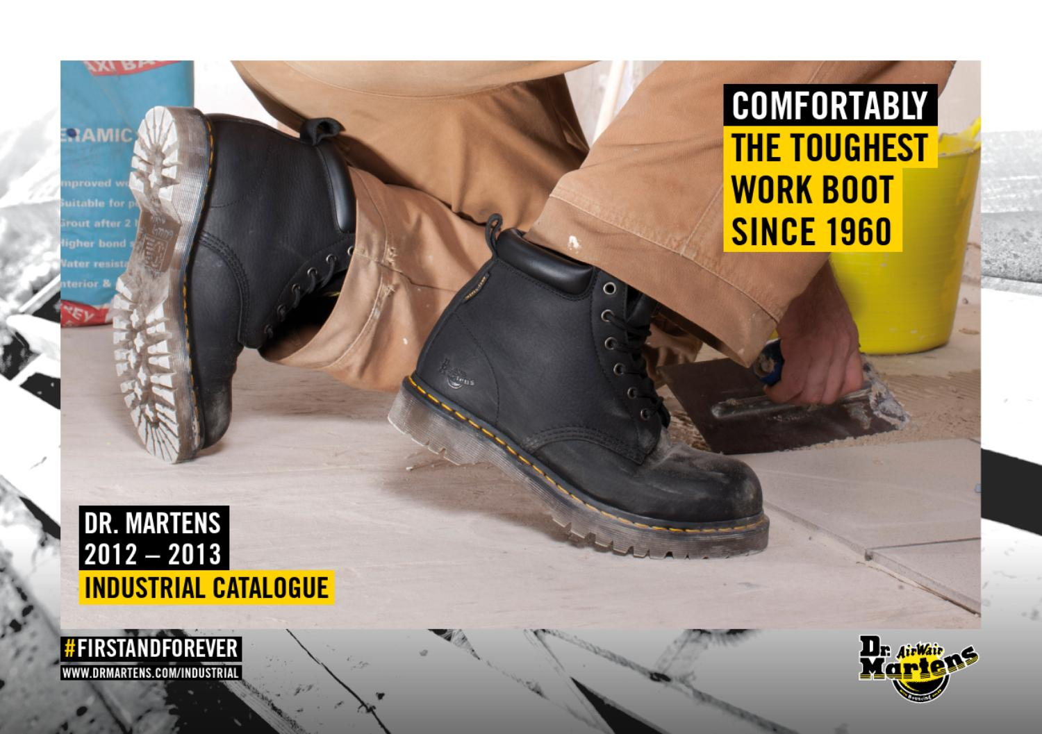 e91ff698f03 DR. MARTENS 2012 - 2013 INDUSTRIAL CATALOGUE by Dr. Martens Airwair ...