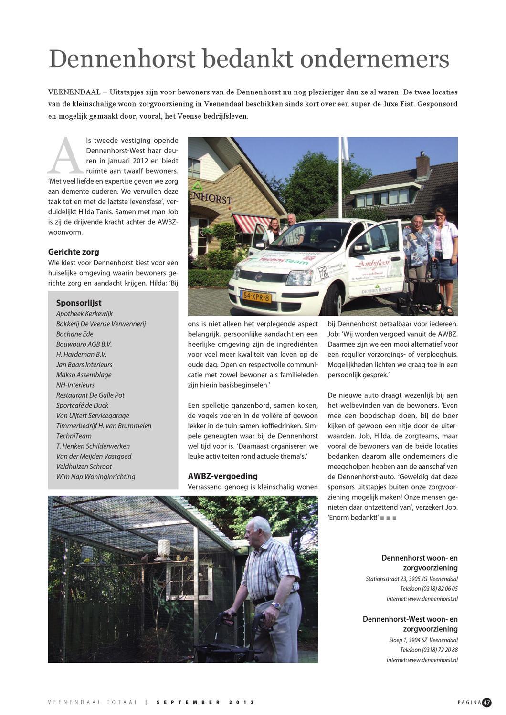 veenendaal totaal september 2012 by peters communicatie issuu