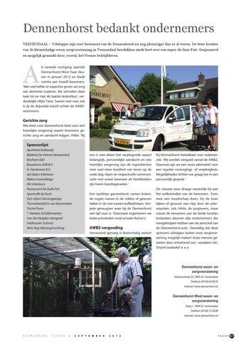 Veenendaal Totaal september 2012 by Peters Communicatie - issuu