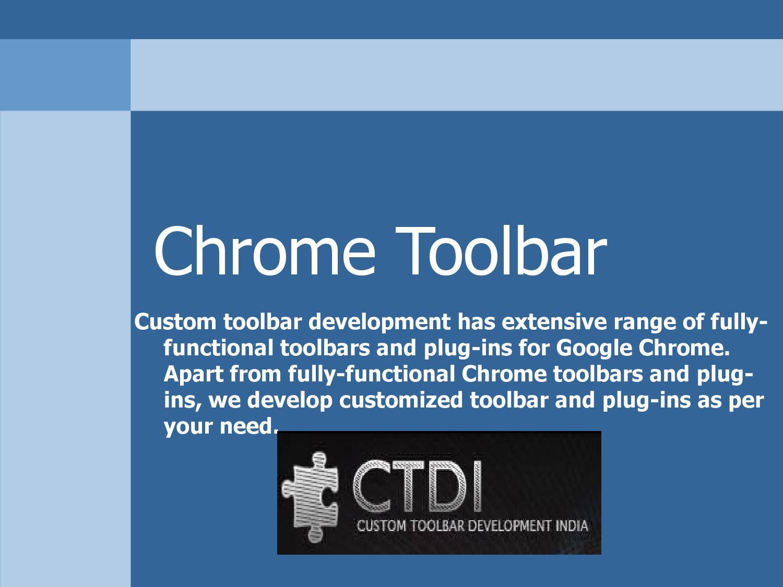 Chrome toolbar by leon victor - issuu