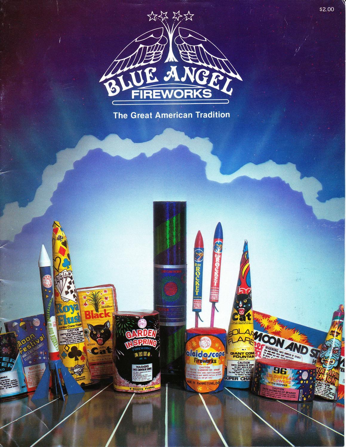 2 Cherry Bomb 91 Shot Saturn Suprise Color Missile Battery Fireworks Label Bonus July 4th Holiday & Seasonal