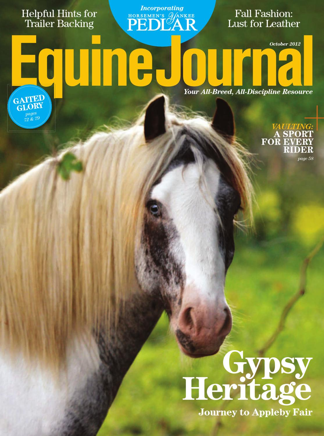 Krezi Kamis 26 Eileen Grace Absolutely White Cc Cream 50ml Oil Control Equine Journal October 2012 By Issuu