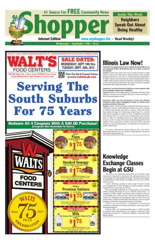 Walt S Food Sale Ad