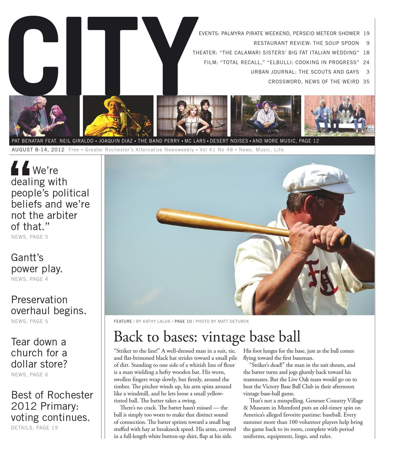 August 8-14, 2012 - CITY Newspaper by Rochester City Newspaper - issuu