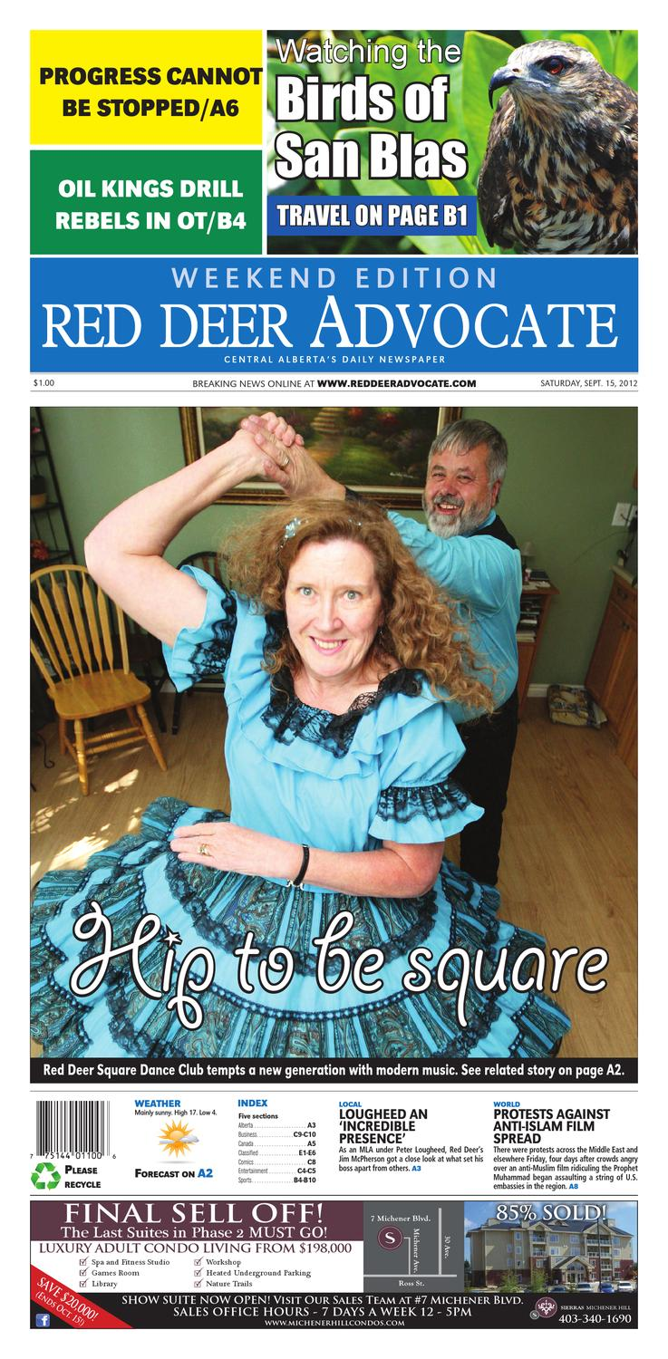 Red Deer Advocate, September 15, 2012 by Black Press - issuu