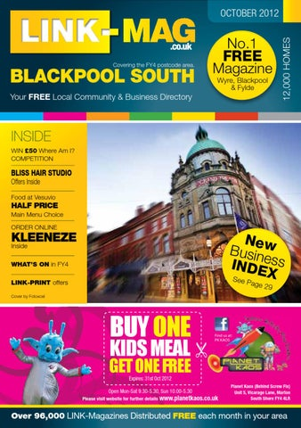 7c04e2de4d LINK-FY4 Blackpool South Magazine October 2012 by LINK-MAG - issuu