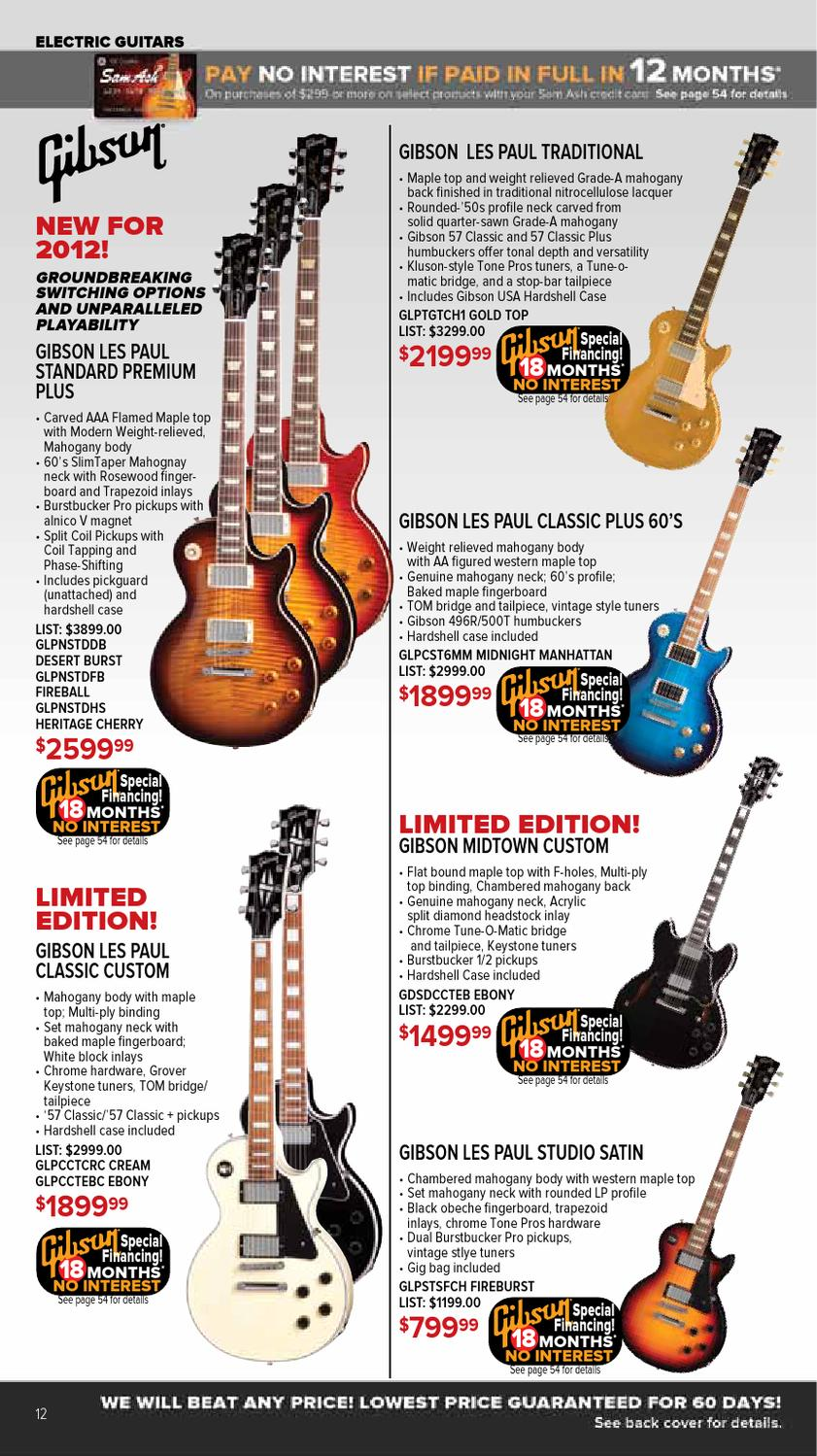 Oct  2012 GearGuide by Sam Ash Music Corp  - issuu