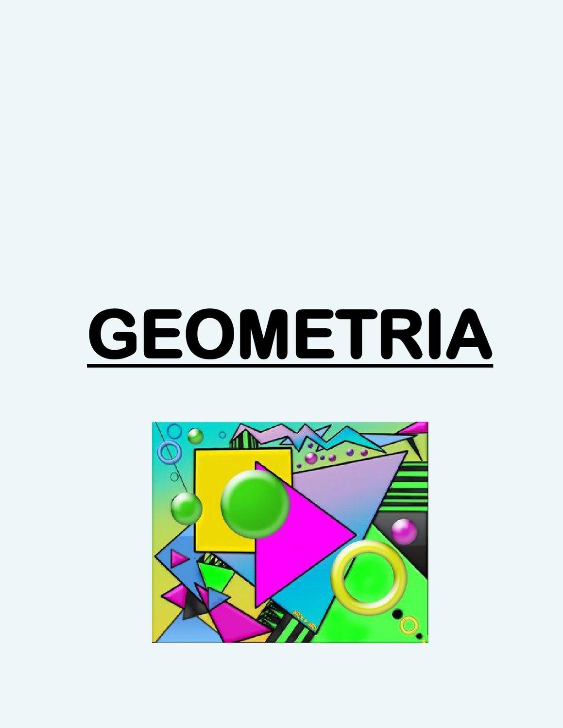 Elementos Y Ejercicios De Geometria By Monica Marenzi Issuu