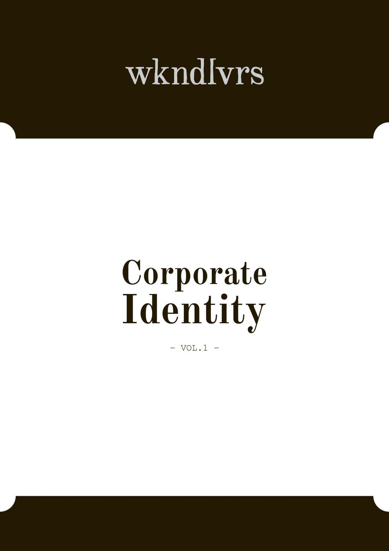 Corporate Design - wkndlvrs by Yvonne Hartmann - issuu