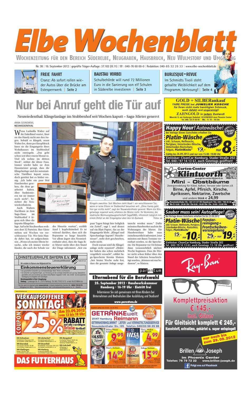 Süderelbe KW38 by Elbe Wochenblatt Verlagsgesellschaft mbH & Co.KG - issuu