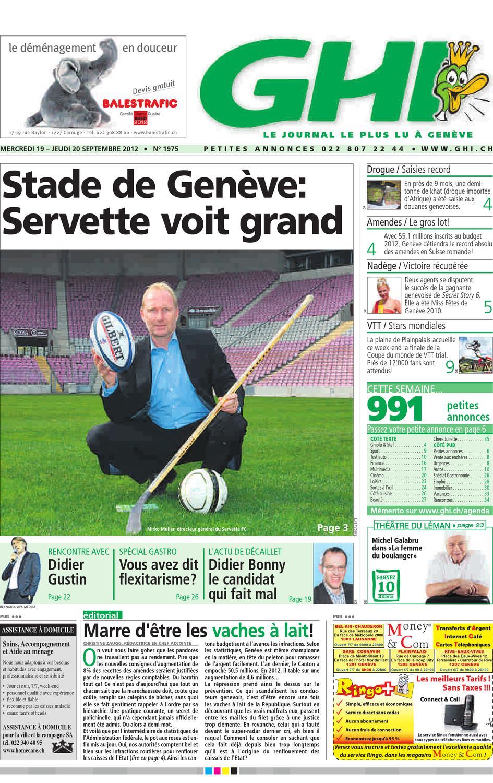 GHI du 20.09.2012 by GHI   Lausanne Cités - issuu 284bafa31f1b