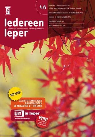46iedereenieper2012septpdf By Stad Ieper Issuu