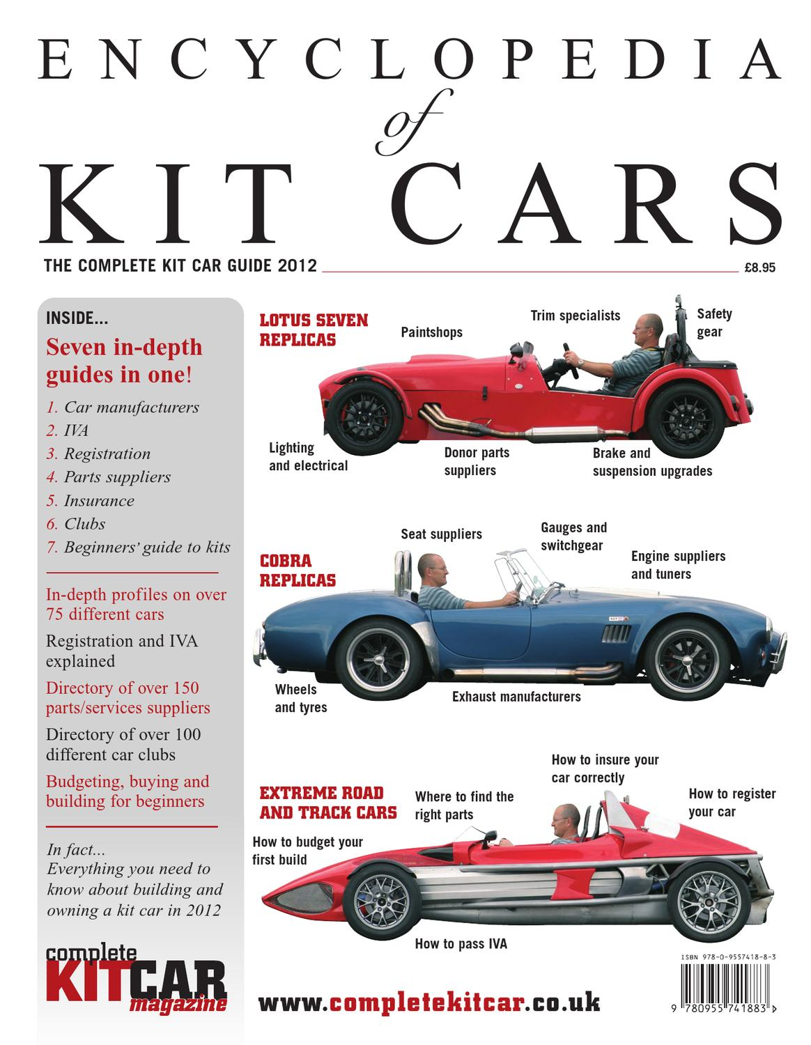 Encyclopedia Of Kit Cars By Performance Publishing Ltd Issuu
