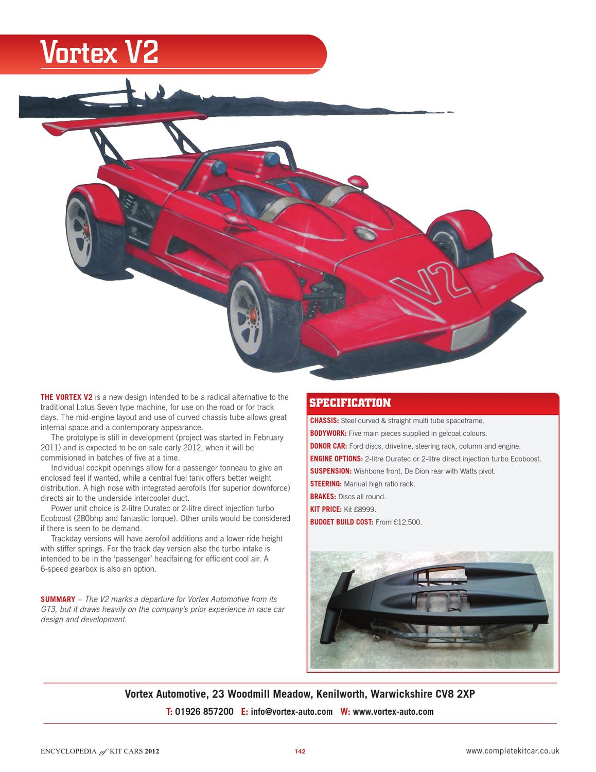 Encyclopedia of Kit Cars