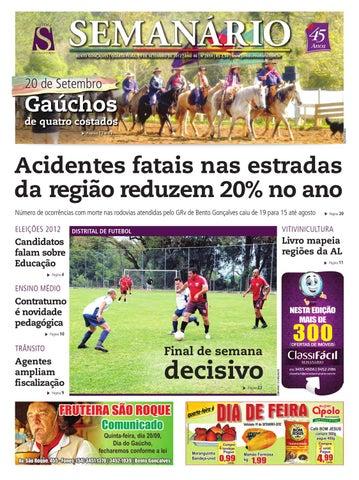 19 09 2012 - Jornal Semanário by Jornal Semanário - Bento Gonçalves ... a9dbf1f669922