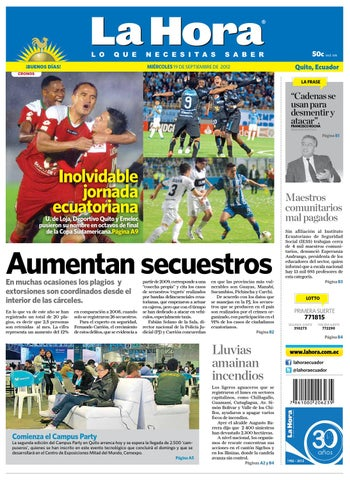 a49a1d05eb Edición impresa Nacional del 19 de septiembre de 2012 by Diario La ...
