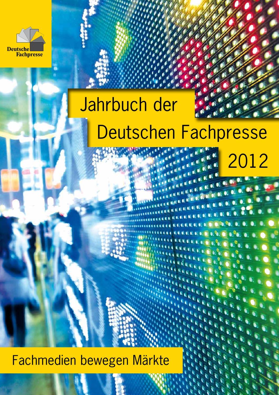 Jahrbuch der Deutschen Fachpresse 2012 - \