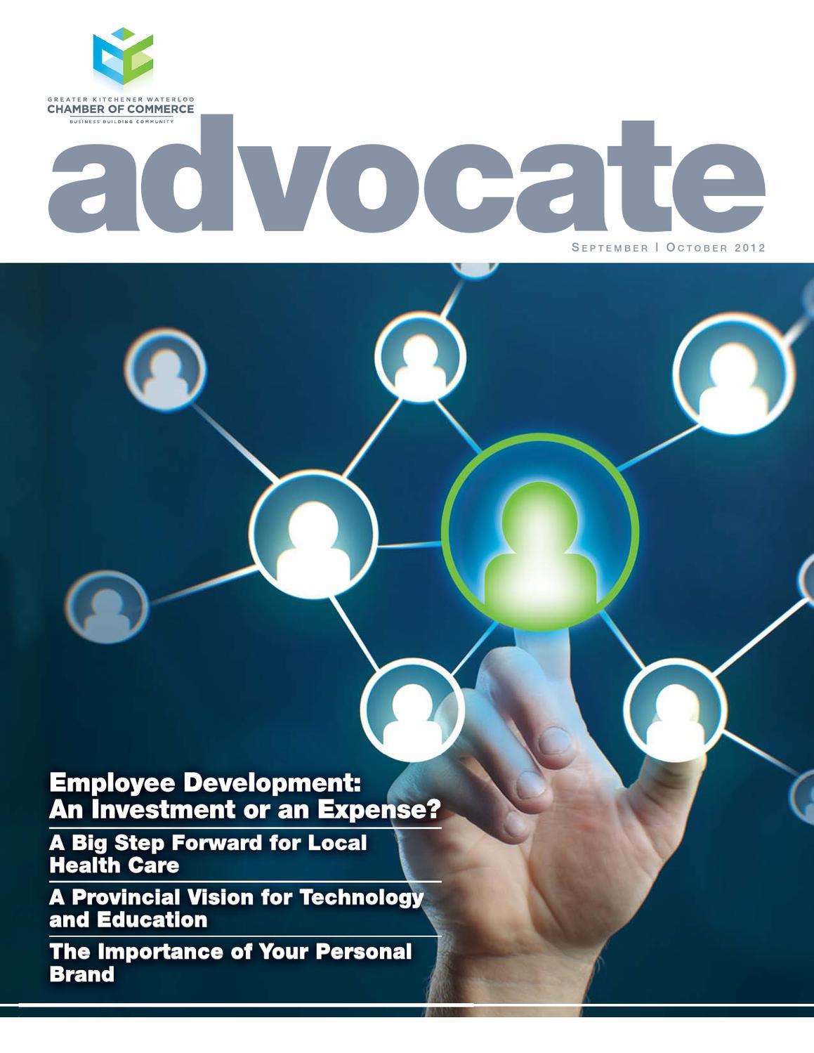 The Advocate Magazine - September | October 2012 by Natalie ...