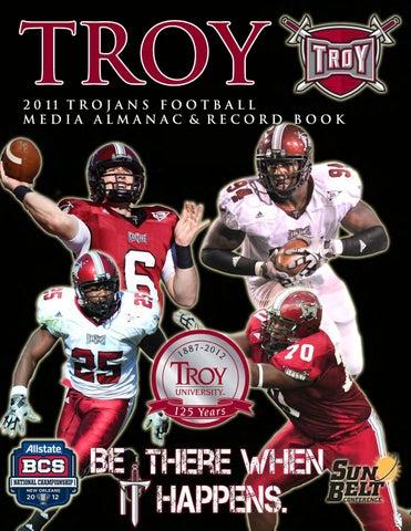 2011 Troy Football Media Guide by Troy University Athletics - issuu 04e468e9a