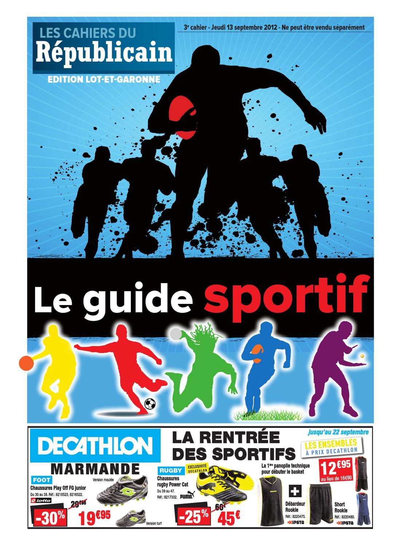 Mai By Et Des Guide Sports Lot Issuu 2012 Xavier Garonne KJcl1TF