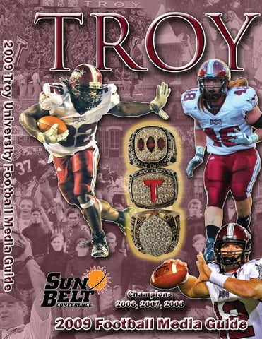 2009 Football Media Guide by Troy University Athletics - issuu f9a23f35e