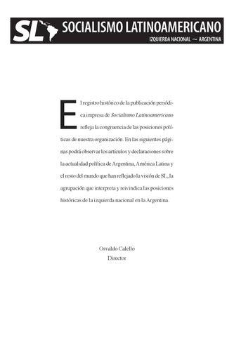Periódico SOCIALISMO LATINOAMERICANO by Socialismo Latinoamericano ... 0b3f00dfb9cd3