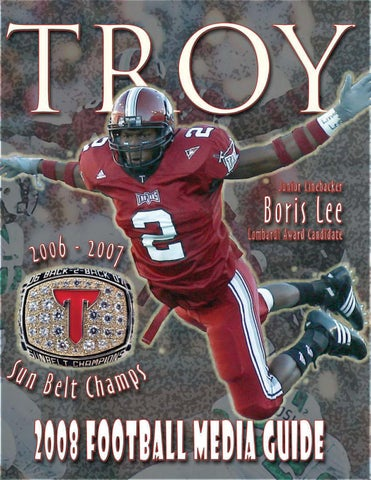 961655d91 2008 Football Media Guide by Troy University Athletics - issuu