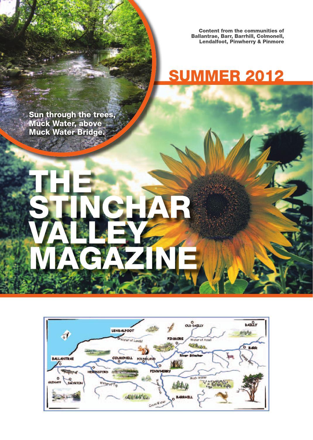 Marvelous Stinchar Valley Magazine Summer 2012 By Stephen Ogston Issuu Andrewgaddart Wooden Chair Designs For Living Room Andrewgaddartcom