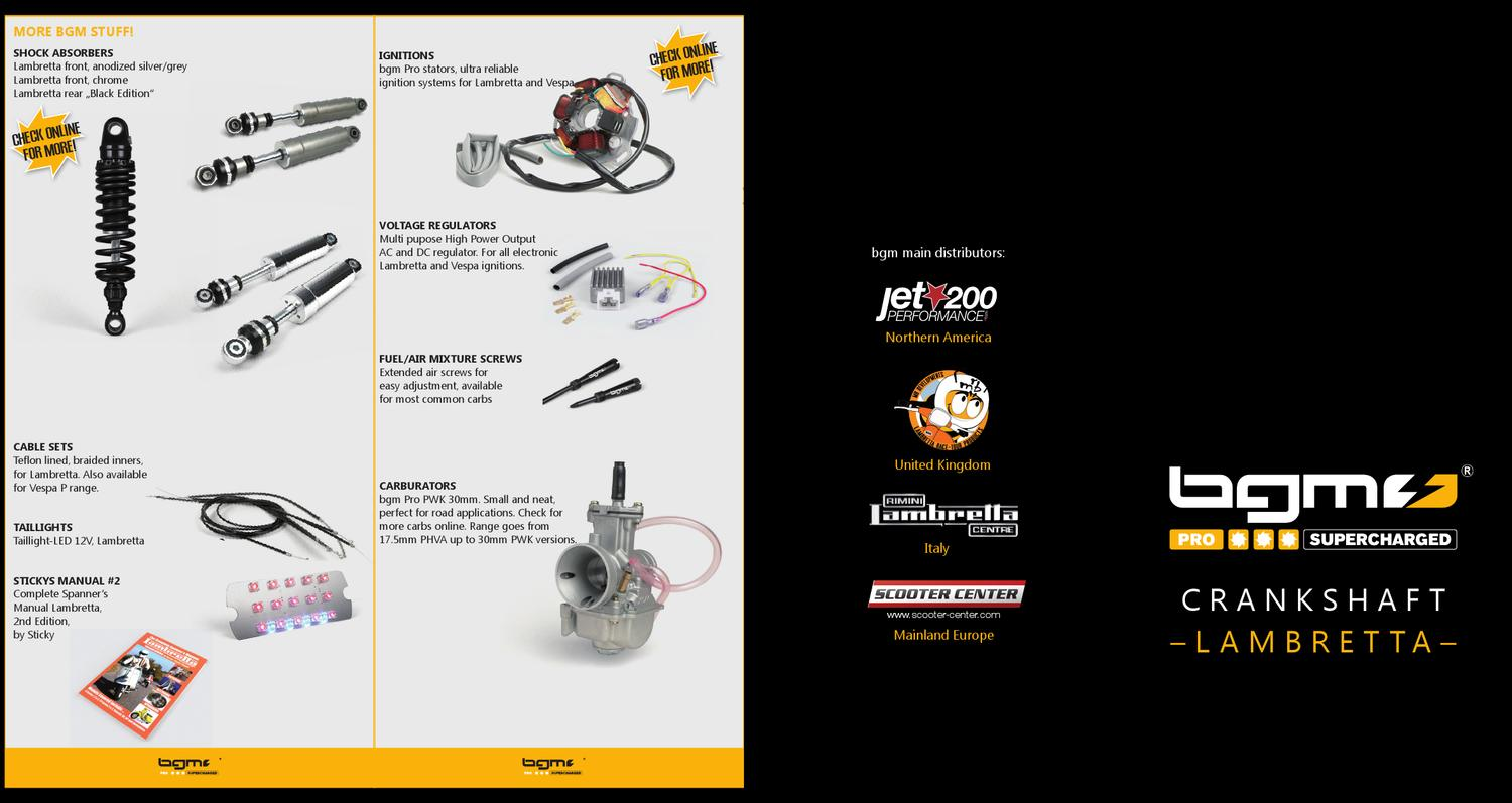 Bgm Voltage Regulator Vespa Lambretta By Scooter Center Gmbh Issuu Series Iii Electronic Ignition Installation Crankshaft Instructions