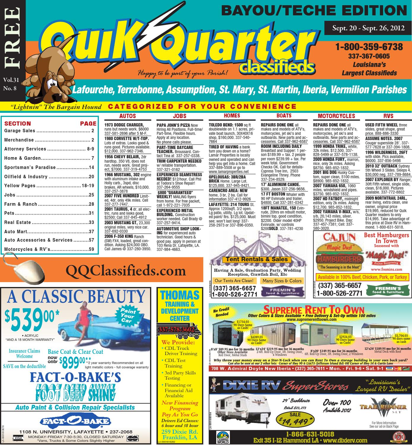 Qq Teche By Part Of The Usa Today Network Issuu Reliant Single Handle Kitchen Faucet Diagram Parts For Models 4205