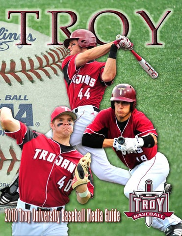 9503481a1010f6 2010 Baseball Media Guide by Troy University Athletics - issuu