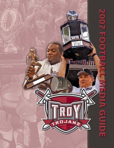 65ecc38ce62 2007 Football Media Guide by Troy University Athletics - issuu