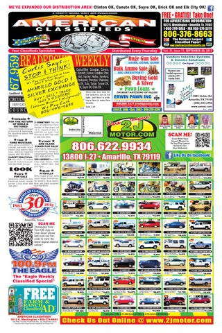 American Classifieds Amarillo TX Sept 20 2012 By