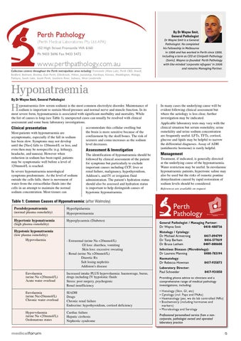 Medical Forum 09/11 by Medical Forum WA - issuu