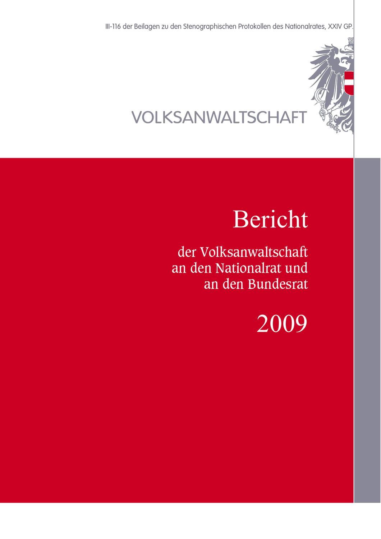 VA_Bericht_2009 by Russmedia Digital GmbH - issuu