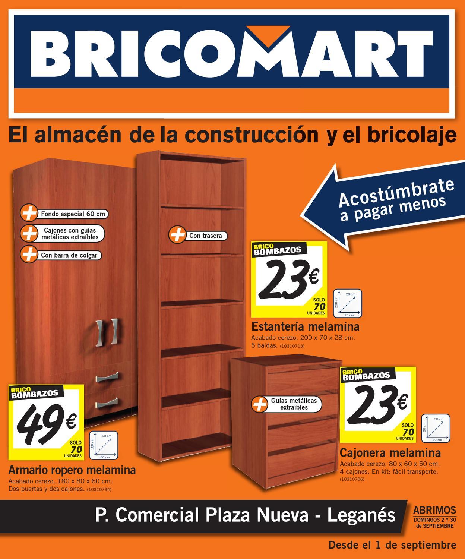 Bricomart Folleto Madrid Leganes 28 08 2012 By Misfolletos Com