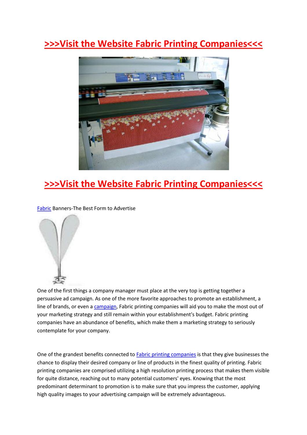 Guide on Buying Custom Fabric Banners by Nelson Zick - issuu