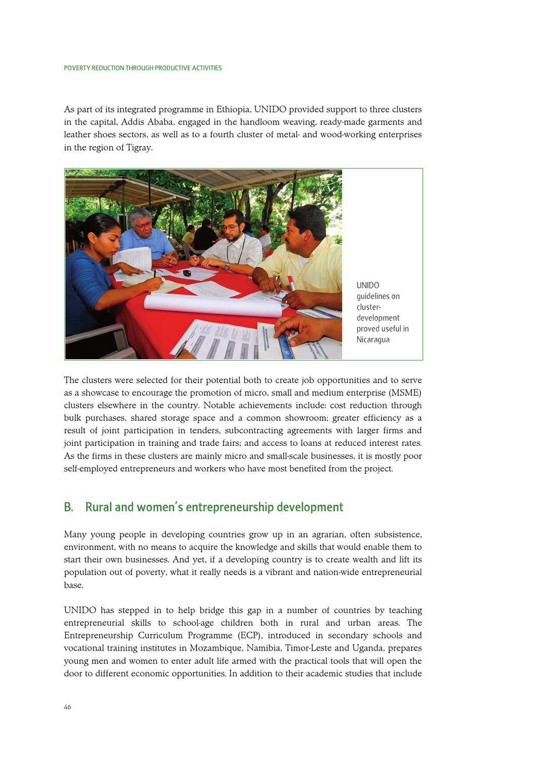 Annual Report 2009 by UNIDO - issuu