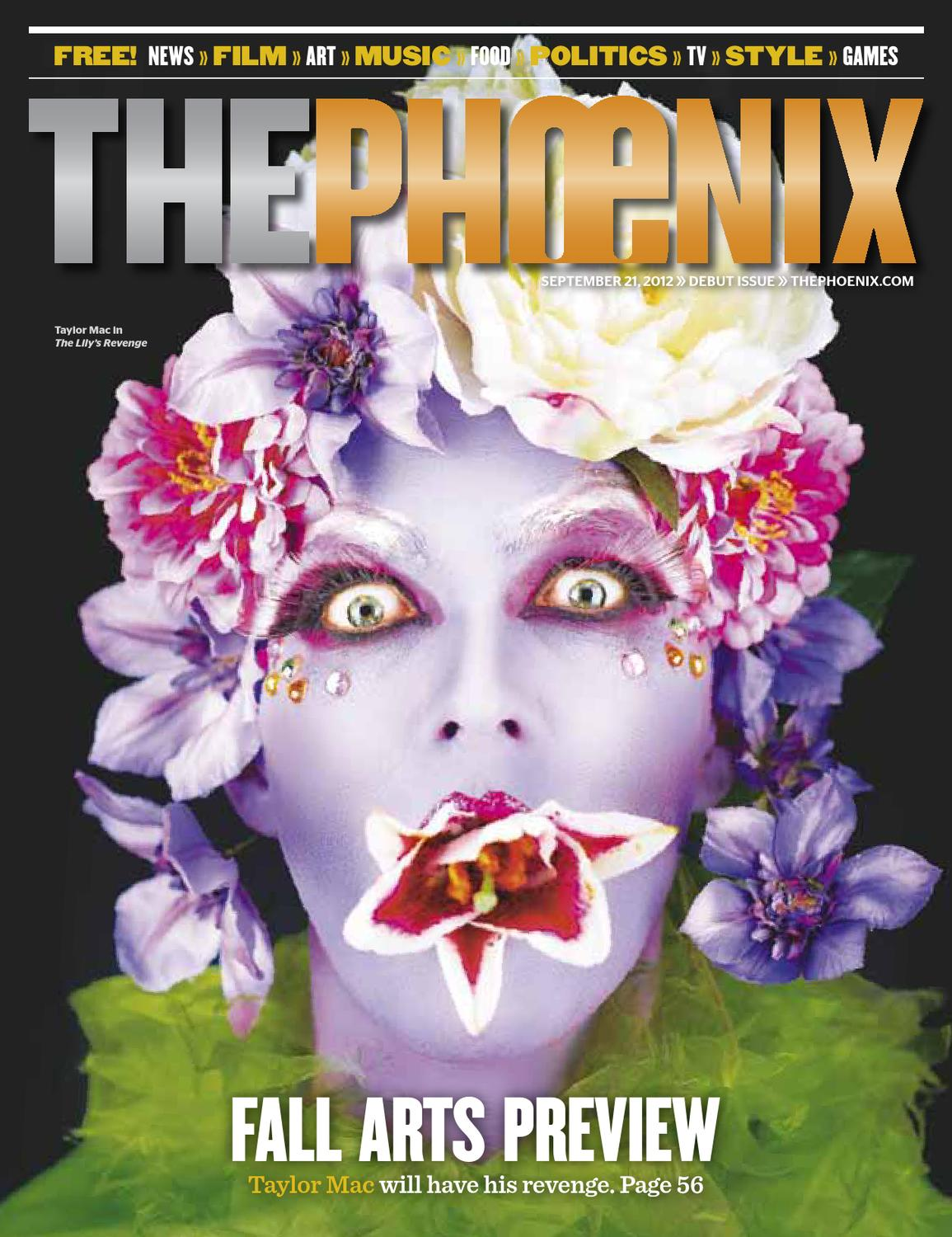 Phoenix Issue 09-21-2012: Relaunch by The Phoenix - issuu