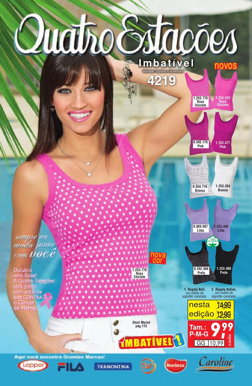 d31dce5e64 Revista Quatro Estações 4219 by Posthaus.com - issuu